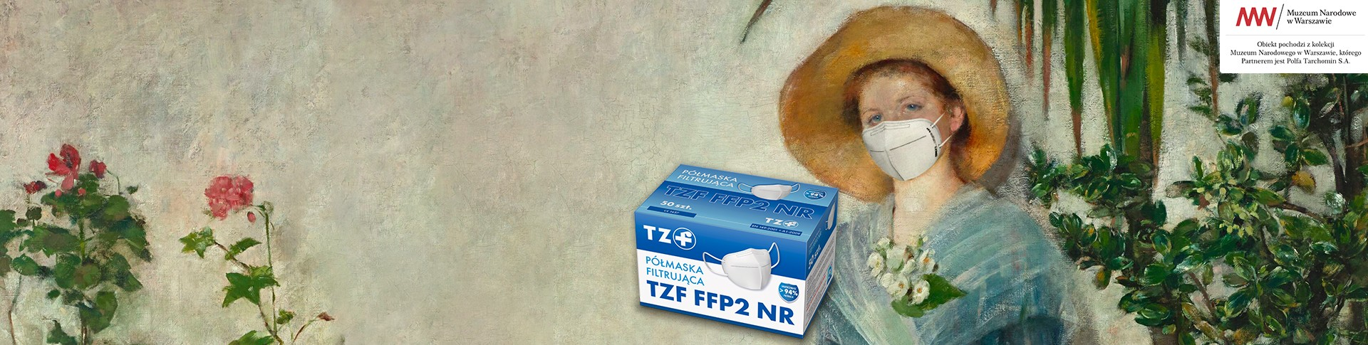 Półmaska TZF FFP2 NR
